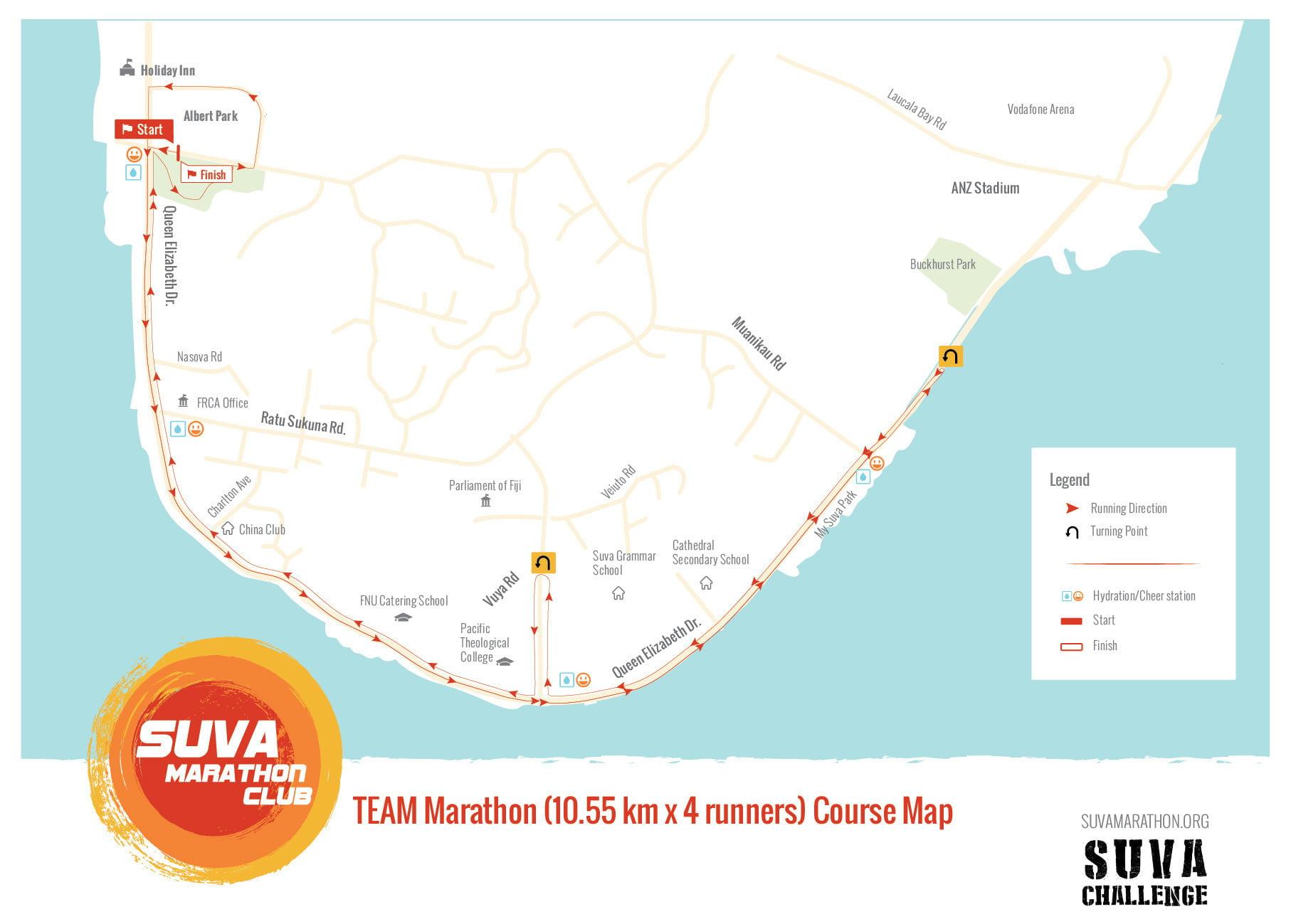2017 Suva Challenge Team Marathon