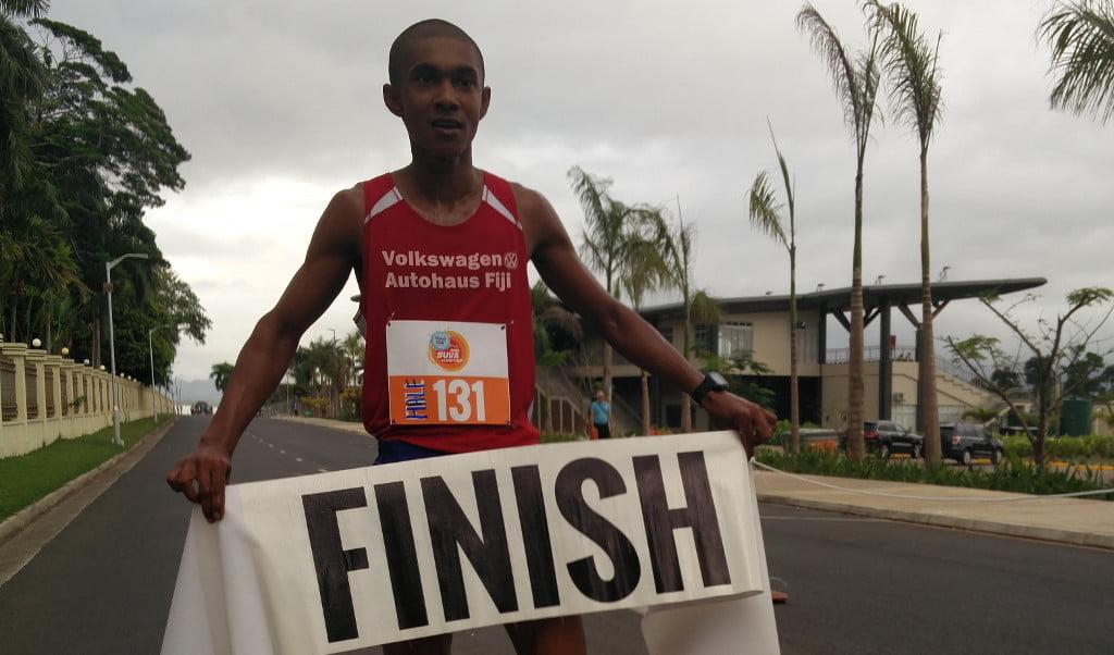 Avikash Lal wins Suva Challenge 2016 half marathon