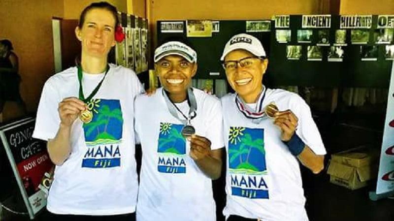 Nau Dakuiliga, 2nd place Medal Winner Women Half Marathon at Munro Leys Suva Challenge 2017